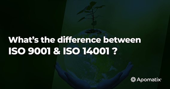 Blog Featured Image What is the difference between ISO 9001 and ISO 14001? [+Template]